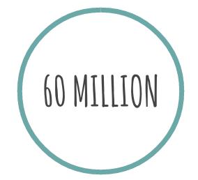 60 million